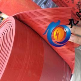 红色防滑胶板 配电室防滑绝缘胶板 广东绝缘胶板厂家