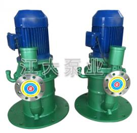 江大泵业WFB (立式) 不锈钢(氟合金)无密封自控自吸泵