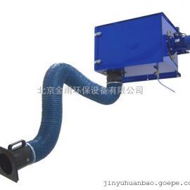 北京金雨JY-1500G壁挂式焊接烟尘净化器 工业除尘设备 3米柔性臂