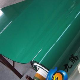 供应丽水防静电胶垫 2mm操作台垫 防静电台垫