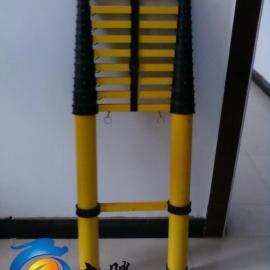 供应绝缘竹节梯 玻璃钢绝缘竹节梯 伸缩鱼竿梯