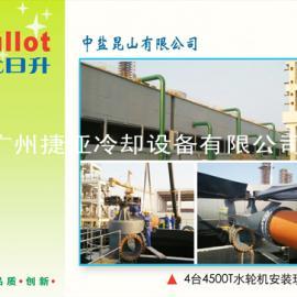 吉尤日升无电机冷却塔大型混凝土冷却塔节能节电10年成功案例