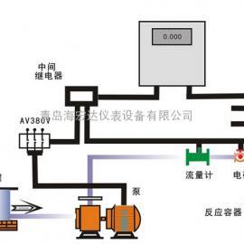 山东青岛胶南液体定量配料控制系统 定量控制器