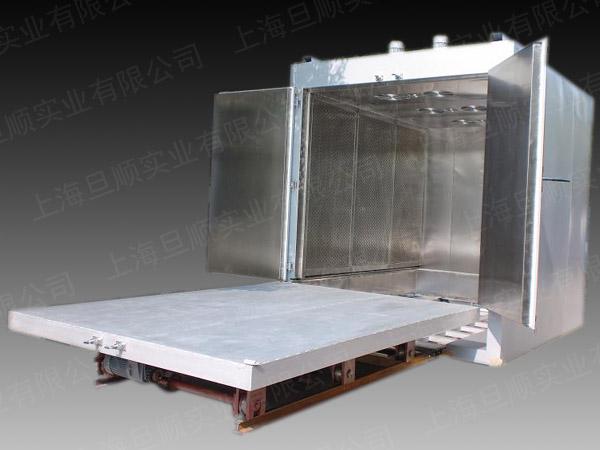 上海旦顺定制台车烘箱,辊轮传动烘箱