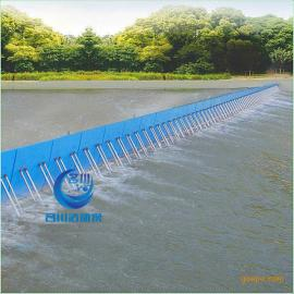 MC名川活动坝采用浮标开关控制操作液压系统可无人管理