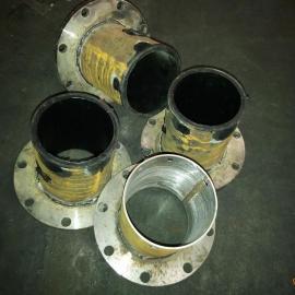 厂家供应钢管衬胶钢管弯头衬胶三通钢管衬胶钢管法兰衬胶