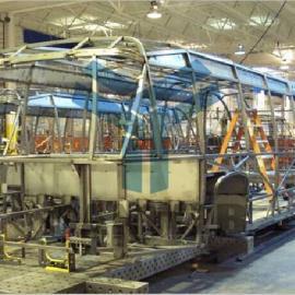 客车组对工装夹具,客车焊接工装夹具整体解决方案