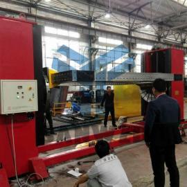 翻转台旋转台变位机柔性组合焊接工装夹具,机器人焊接工作站