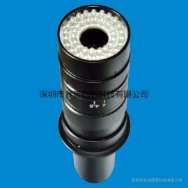 单筒显微镜螺旋式环形灯