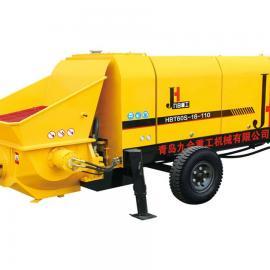 大骨料混凝土泵专业厂家 九合重工 品质保证 售后无忧!