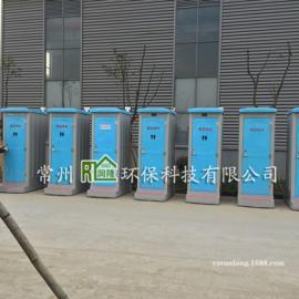 丹阳 扬中工地简易移动厕所价格 玻璃钢储存式流动厕所
