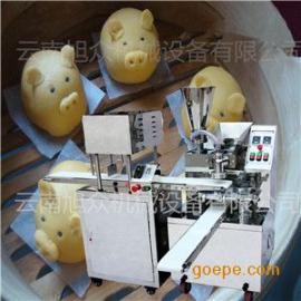 北京零售旭众饽饽机  多功用小笼饽饽机  全自动水冷灌汤饽饽机