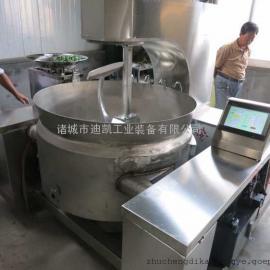 中央厨房设备全自动炒菜锅