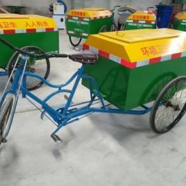 热销四川人力三轮垃圾搜集车 保洁车 款式新颖美观实用