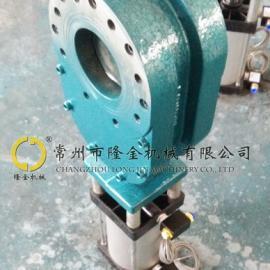 气力除灰阀门 LJ/隆金 耐磨陶瓷钨钢双闸板双插板B型