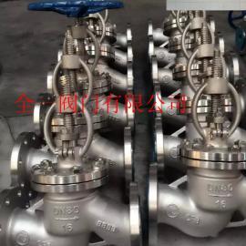 J41W-64P、J41W-100P白口铁高压法兰截止阀