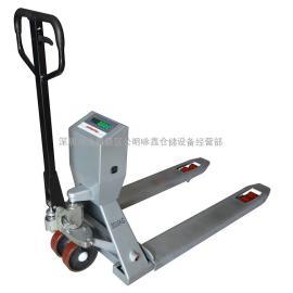 深圳电子叉车称2吨