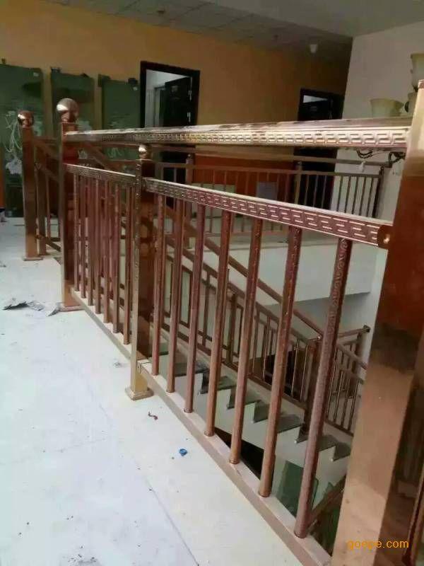 供应304欧式高质量不锈钢护栏花纹方管