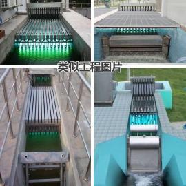 加工定制全国明渠式紫外线消毒器/框架式污水处理厂设备