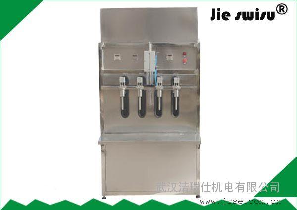 包装清洗剂设备香水汽车水喷漆剂灌装机,汽车玻璃水供应玻璃大闸蟹生产蓝图片
