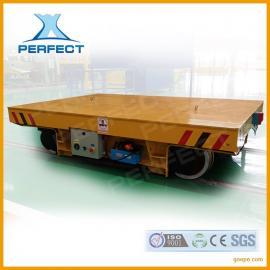 设备搬运电动运载车20吨配套无线缆转弯60t蓄电池轨道车