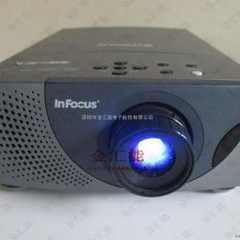 InFocus富可视投影机维修 富可视投影仪画面现竖条维修