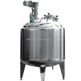 专业生产不锈钢发酵管设备 提取罐设备 果醋发酵罐设备