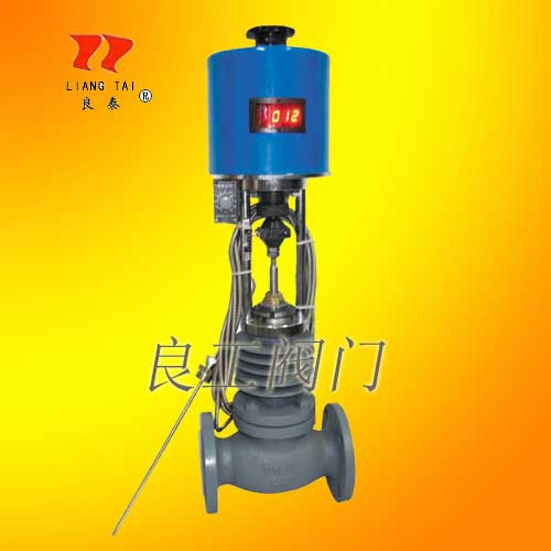 自力式电动温度调节阀(ZZWPE)