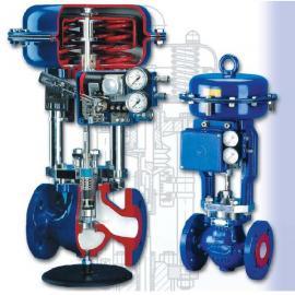 杭州良工气动薄膜单座调节阀|不锈钢气动调节阀