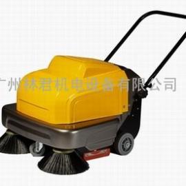 工厂车间商场仓库用无动力手推式扫地机