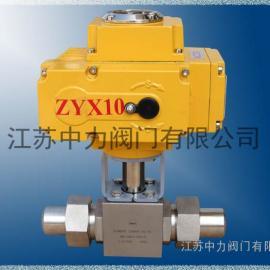 Q921N不锈钢电动高压球阀