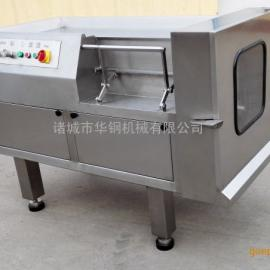 供应诸城华钢牌冻肉切丁机,550冻肉切丁机的厂家