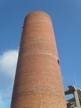 30m烟囱新建|新砌30米砖烟囱|砌筑砖烟囱