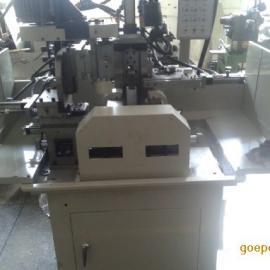 有槽阀杆零件自动铣扁铣槽机