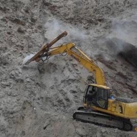 亿山挖改液压钻机 凿岩钻机 工程钻孔机械设备