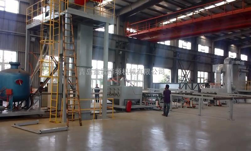 钢管喷砂清理机价格,钢管内外壁喷丸机厂家