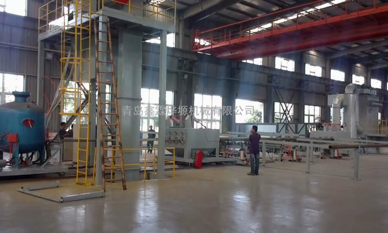防腐设备钢管内壁喷砂机厂家