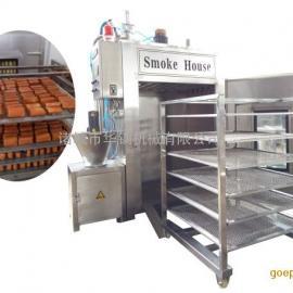 多功能烟熏豆腐干设备,100烟熏炉