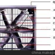 全新环保款负压风机-方形负压喇叭扇【厂家低价批发】