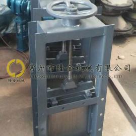 气力除灰输灰系统 LJ/隆金牌 手动插板阀 螺旋闸门