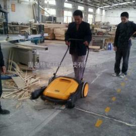 艾隆无动力扫地机,手推式道路清扫车
