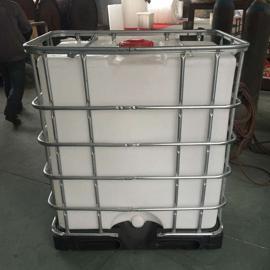 专业耐酸碱一体成型IBC集装桶抗老化化工运输桶避光桶图片