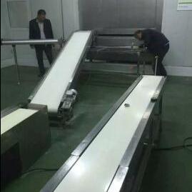新型全自动饺子生产速冻流水线设备