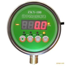 南普科创电接点压力表型号ZKY-100不锈钢耐震真空压力表