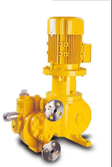 米顿罗计量泵RA040S024P1MNN液压隔膜计量泵