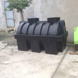 淮北1立方三相分离化粪池2吨一体化污水处理成品化粪池