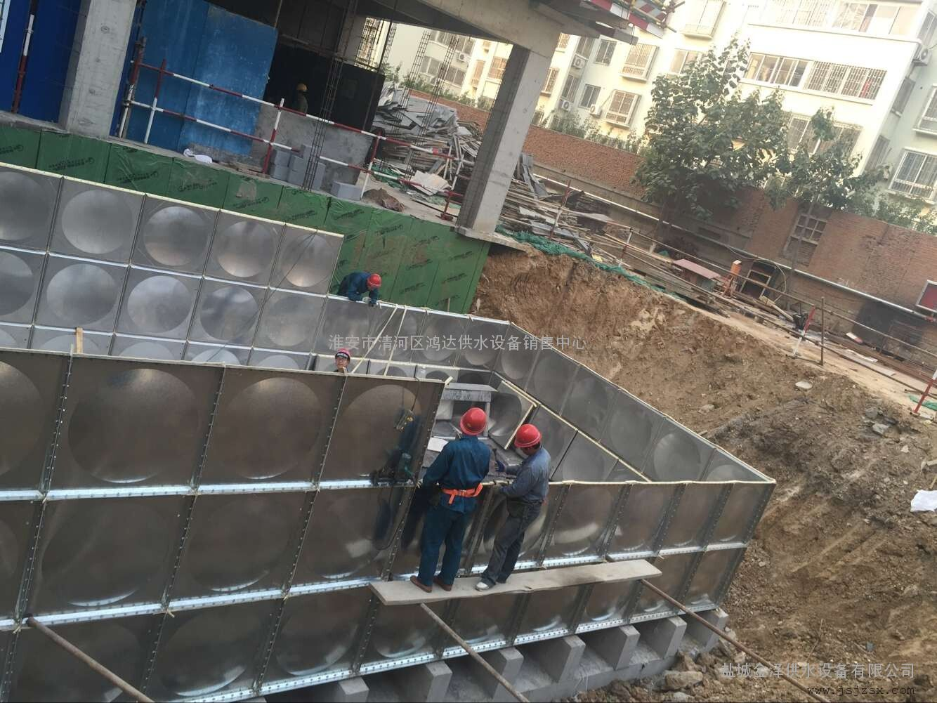 地埋箱泵一体化消防泵站
