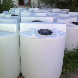 1吨PE加药箱配0.75kw搅拌机