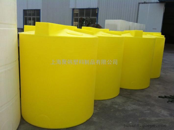 2吨pe加药箱|2立方塑料搅拌桶