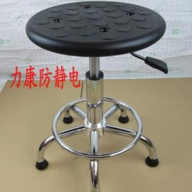 批发防静电凳子 升降圆凳 流水线作业凳 实验室升降圆凳
